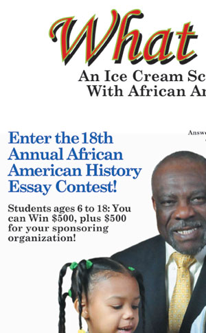 "annual black history essay contest The regions riding forward scholarship essay contest is part of the bank's larger black history month celebration in addition to the scholarship program, regions is continuing to offer a unique online learning module about african-american history, ""306: african-american history™,"" to select high schools in markets served by the company."