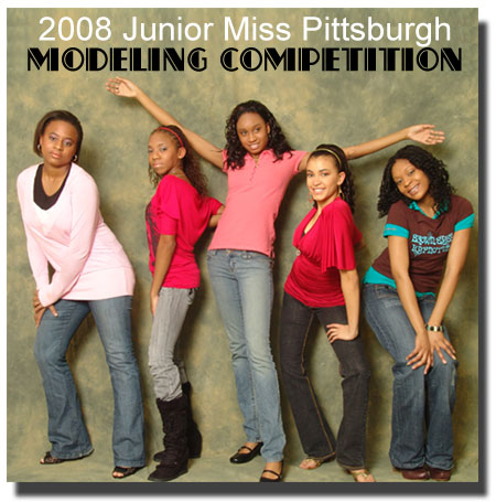 The 2008 Junior Miss Pittsburgh Modeling Pageant will be held on