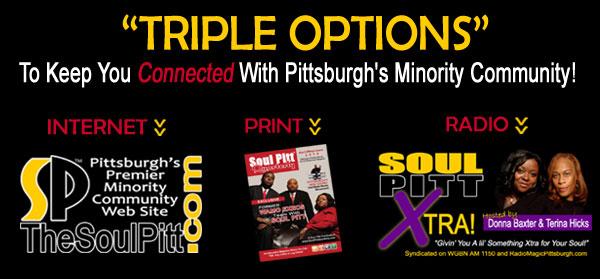Triple Options - Internet, Print and Radio