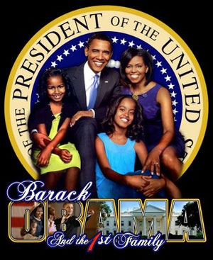 obama the 1st family